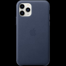 iPhone 11 Pro Leather Case - Midnight